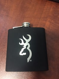 Black hip flask - never used  Calgary, T3R 0T8