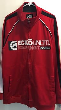 red and black Ecko Unltd. Raw & uncut full-zip jacket San Diego, 92104