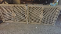 North States Superyard indoor and outdoor 6 panel playard in sand Lakewood, 90712
