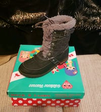pair of black suede boots with box Newport News, 23607