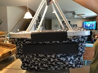 black and white floral tote bag West Richland, 99353