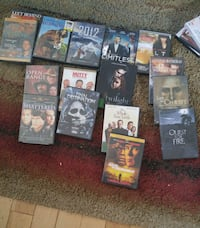 assorted DVD movie case collection Chilliwack, V2P 4E7
