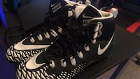 Size 14 Nike Force Savage Cleats (BEST OFFER) Martinsburg, 25401