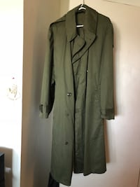 Olive Green button-up coat San Diego, 92114