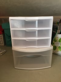 Two sterilite storage compartments, both for $20! Victoria, V8P 2R3