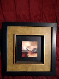 Geometric picture with dark frame.