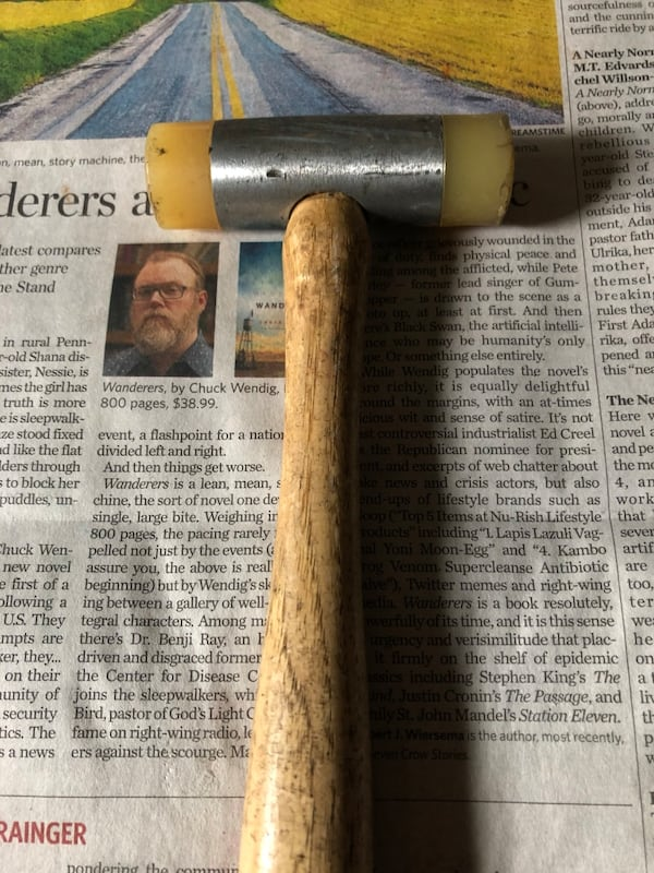 Rubber Tapping Mallet 0