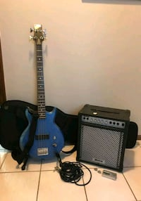 Ibanez Bass Guitar and accessories Camden County, 08012