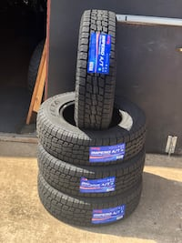 225/75/16 LT 10PLY A/T new tires Zeta set of 4 or sale by piece Dallas, 75228