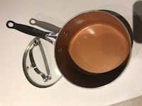 brown cooking pot with glass lid Toronto, M4S 2B2