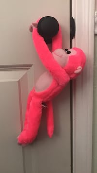 pink monkey plush toy Houston, 77002