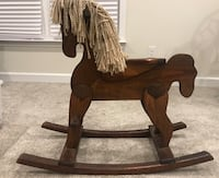 Wooden Rocking Horse-Great condition
