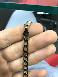 14k gold necklace Canfield, 44406
