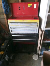 red and black tool cabinet Stockton, 95210
