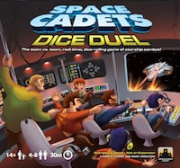 Brand new board game: Space Cadets: Dice Duel Edmonton