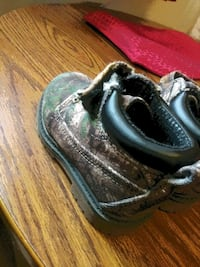 Size 6 camouflage toddler boots Wichita, 67202
