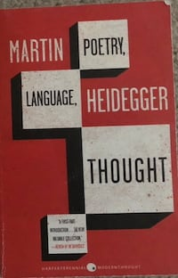 Poetry, Language, and Thought by Martin Heidegger Vaughan, L4J