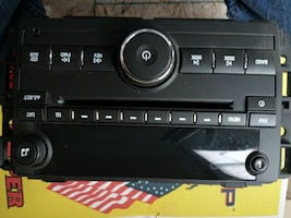 GM factory radio/cd player never used