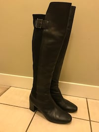Leather boot from Browns