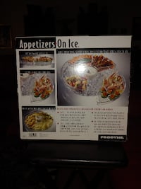 APPETIZERS-ON-ICE BRAND NEW IN BOX