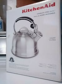 BNIB kitchen aid stainless steel kettle  Vancouver