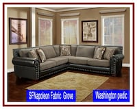 NAPOLEON BLACK SECTIONAL Missouri City