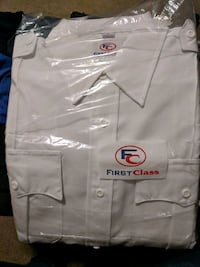 First Class Long Sleeve Uniform Shirt Size XL Sunnyvale, 94087