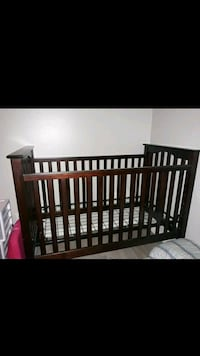 Baby Wooden Crib Bellflower, 90706