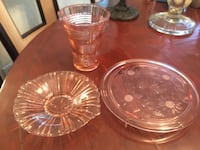 clear glass punch bowl set Delray Beach, 33484