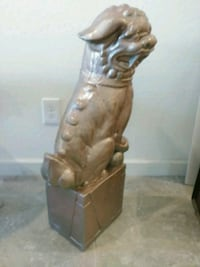 Oriental animal statue 30 in tall