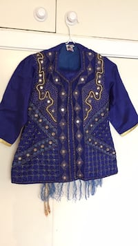 Blue Indian children's suit Vaughan, L4K 2L3