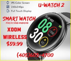 Executive Smart Watch for ios & Android. Affordable price and great design. You won't find another high class smart watch like this. It works with Apple, Samsung, LG, Motorola and many other smart phones. Brand new product with a slick design. We have the