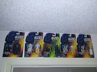 five assorted action figures Tumwater, 98501