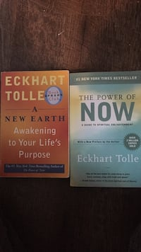 two Eckhart Tolle books White Rock, V4B 2A6