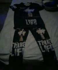 2pac outfit (jump suit) Valdosta