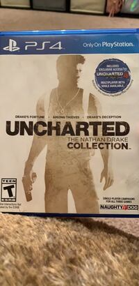Uncharted The Nathan Drake Collection PS4 game case Centreville, 20120
