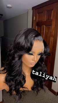 BodyWave Lace Front Wig Human  Houston