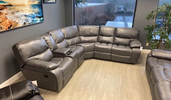 Recliner Sectional (Matching Sofa, Love Seat & Chair Are Available)