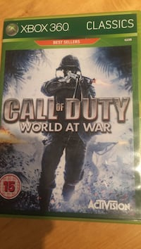 Call of Duty Xbox 360 spill tilfelle