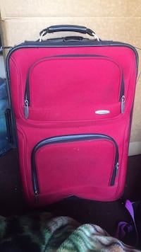 red and black luggage bag National City, 91950