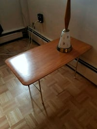 Mid century teak look end table Calgary, T2S 0H3