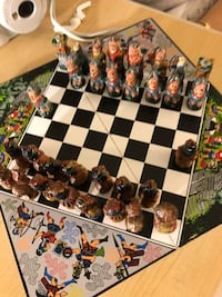 Handmade chess peices