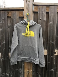 gray and yellow pullover hoodie Pickering, L1X