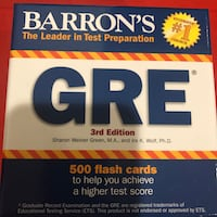 GRE Guides and flash cards Edinburg, 78539