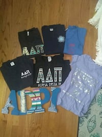 ADPi letter shirts & crafted letters Alexandria, 22314