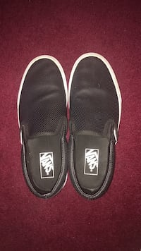 pair of black Vans slip-on shoes Hyattsville, 20783