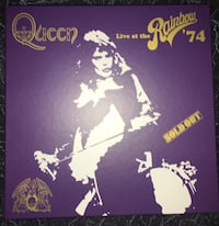 Queen Live at the Rainbow Deluxe Box Set (2CD, 1DVD, 1 Blue Ray)+books Springfield, 22151