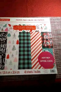 Christmas Crafting Paper and Tags/ Scrapbook Paper Alexandria, 22306