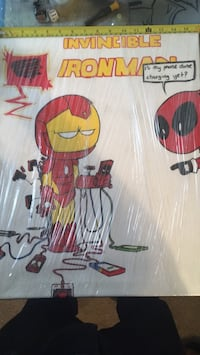 Iron man and dead pool painting Glendale, 85301