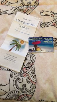 Caribbean Sun Tan &Spa $15 Gift Card never used. Negotiable 113 mi